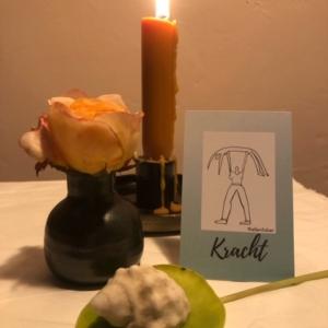 altaar bidden meditatiekaart