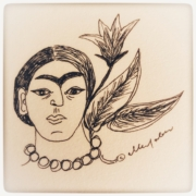 Frida Kahlo tekening